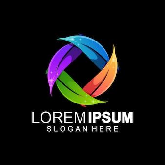 Colore logo foglia