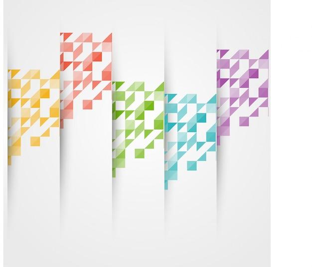 Colore triangolo vettoriale