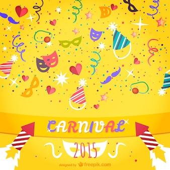 Colorful 2015 carnevale