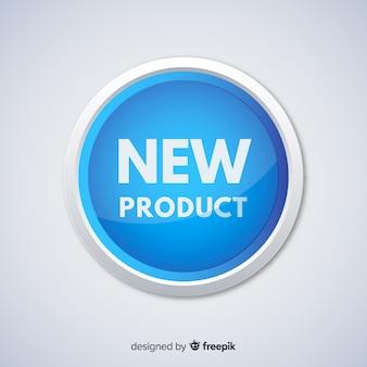 Colorful nuova composizione del prodotto con design piatto