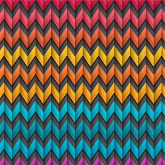 Colorful zig zag sfondo