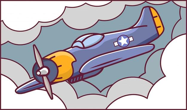 Combattente di aerei americani