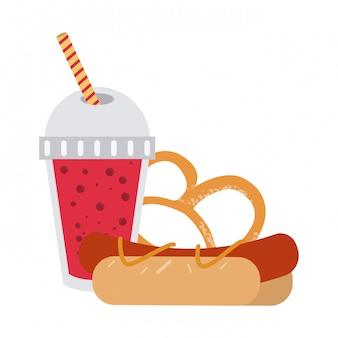 Combinazione di fast food