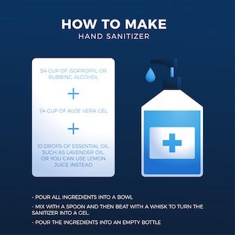 Come preparare un disinfettante per le mani fatto in casa: ingredienti, procedura e istruzioni