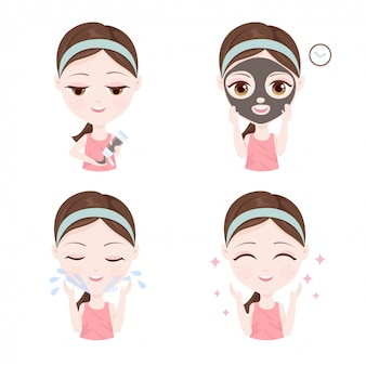 Come usare la maschera di argilla sul viso