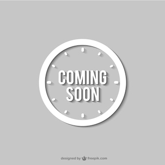 Coming soon orologio segno