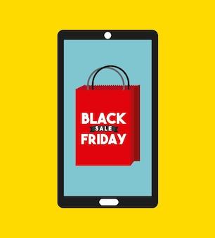 Commercio di vendita venerdì nero