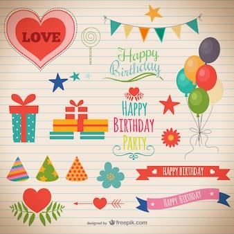Compleanno partito decorazioni
