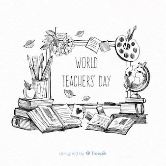 Composizione del giorno degli insegnanti mondiali