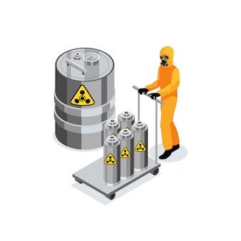 Composizione del trasporto di carburante chimico