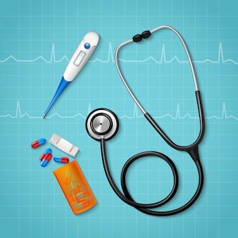Composizione di strumenti di trattamento medico