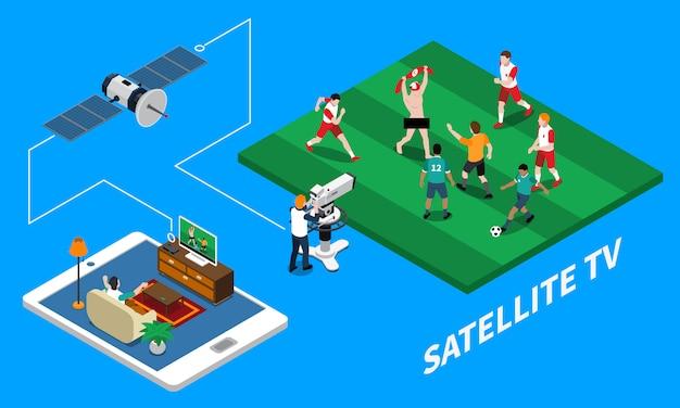 Composizione isometrica di telecomunicazione