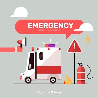 Composizione moderna di emergenza
