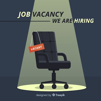 Composizione moderna di posti vacanti