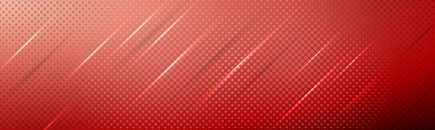 Composizione moderna elegante rossa nel fondo con le pendenze, le luci delle ombre e la struttura di semitono