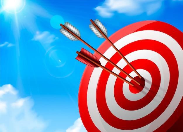 Composizione target realistica