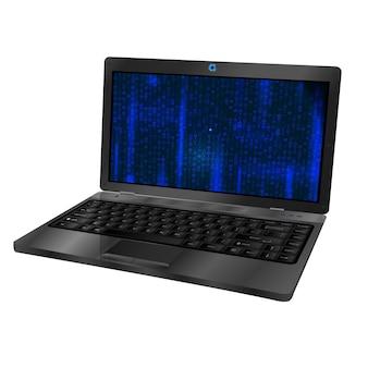 Computer portatile 3d