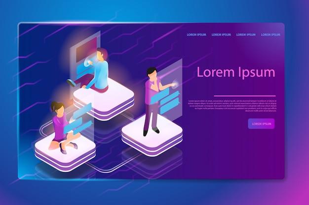 Comunicazione con banner web in realtà aumentata