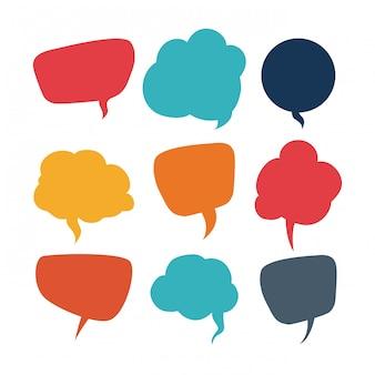 Comunicazione di bolle di discorso
