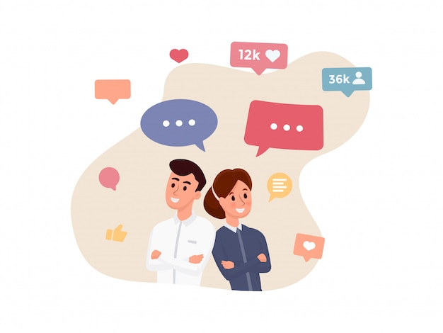Comunicazione persone d'affari