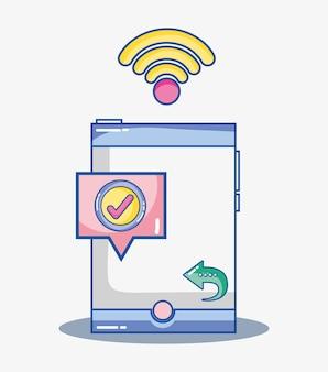 Comunicazione sociale digitale per app mobili