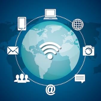 Comunicazione via internet
