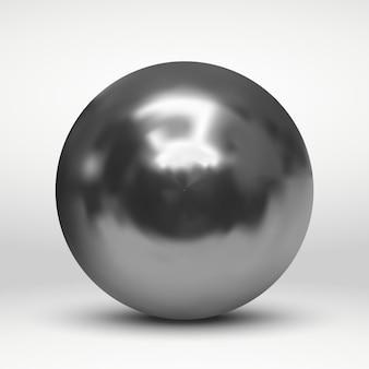 Con la palla d'argento su bianco
