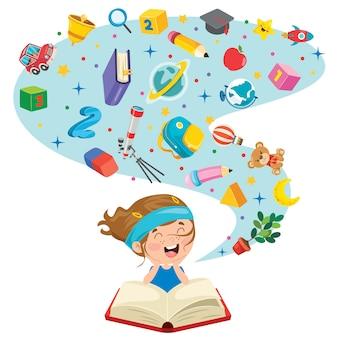 Concept design per l'educazione dei bambini