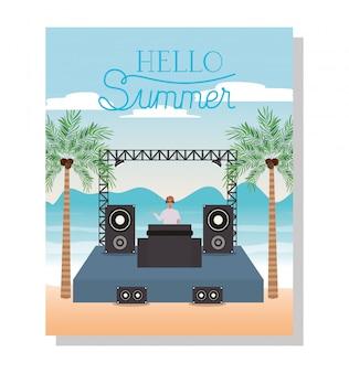 Concerto di musica e ciao estate