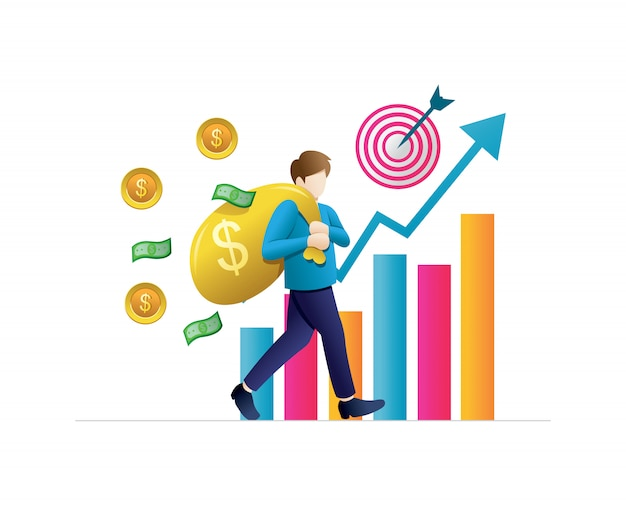 Concetti aziendali per gli investimenti