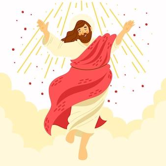 Concetto biblico del giorno dell'ascensione