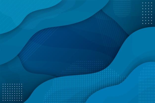Concetto blu classico astratto del fondo