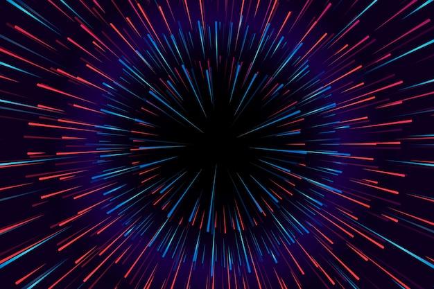 Concetto del fondo delle luci di velocità