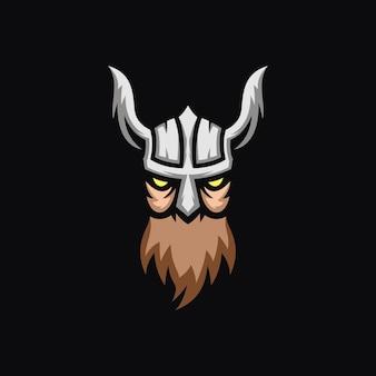 Concetto del logo di viking