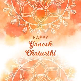 Concetto dell'acquerello ganesh chaturthi