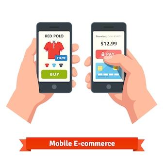Concetto di acquisto online