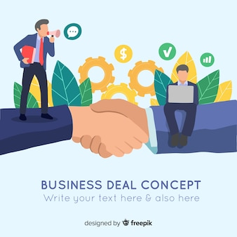 Concetto di affare di affari