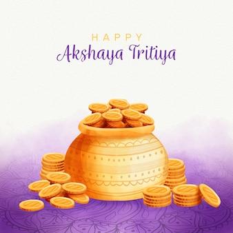 Concetto di akshaya tritiya
