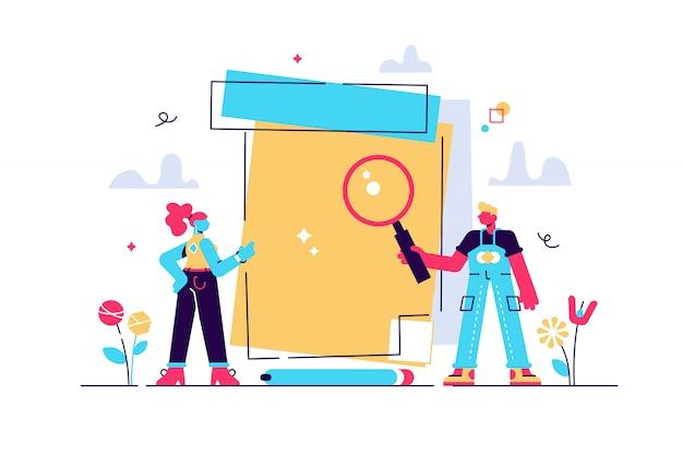 Concetto di azienda di imprenditore, matita, copia spazio vuoto per posizionare il testo. piano aziendale, elenco attività, dichiarazione, concetto di avviso. per pagina web, banner, presentazione, social media, documenti.