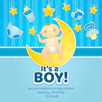 Concetto di baby shower
