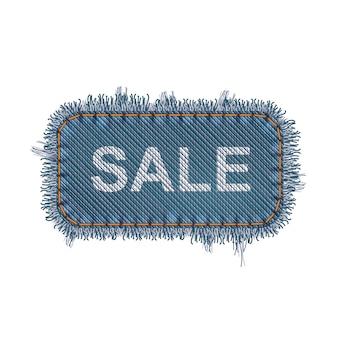 Concetto di banner di vendita