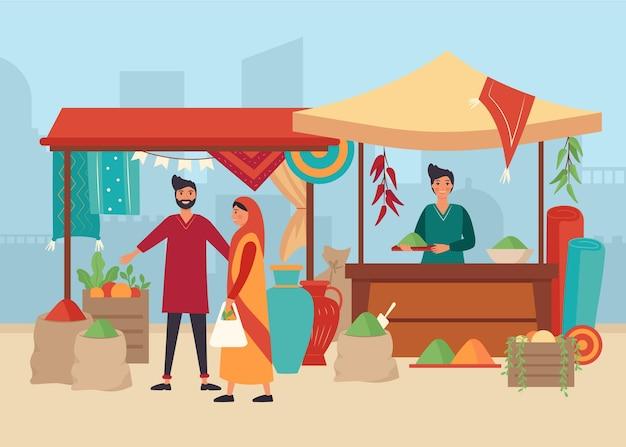 Concetto di bazar arabo