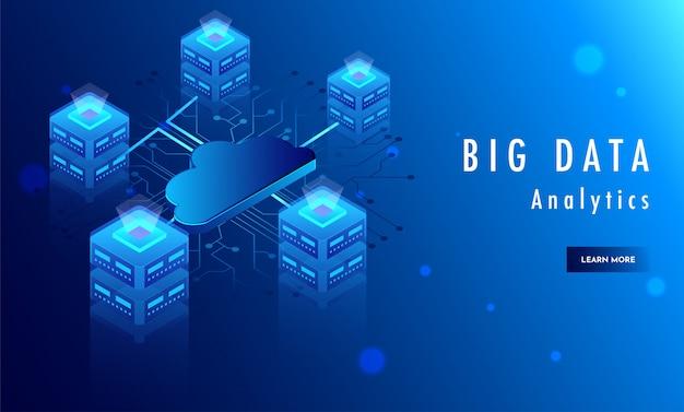 Concetto di big data analytics.