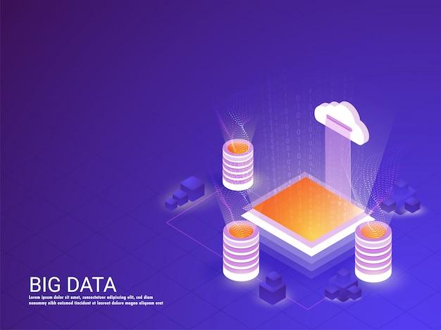 Concetto di big data.