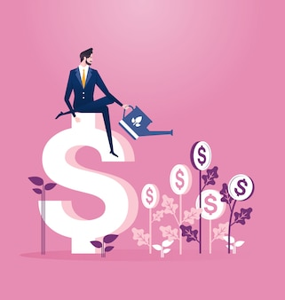 Concetto di business degli investimenti