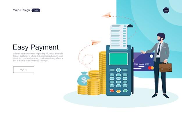 Concetto di business per l'online banking