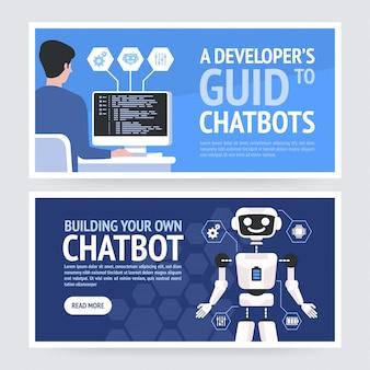 Concetto di chatbot.