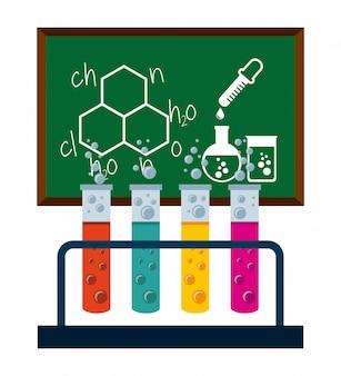 Concetto di chimica