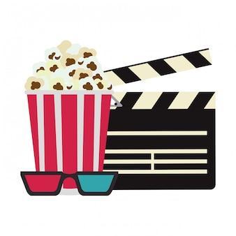 Concetto di cinema e film