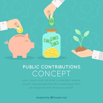 Concetto di contributi pubblici